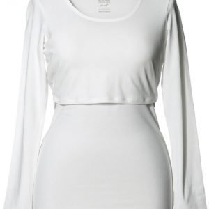 Boob Imetyspusero Classic Top Long Sleeve White