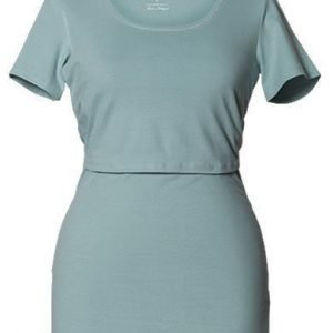 Boob Imetyspusero Classic Top Short Sleeve Ice blue