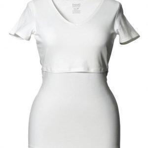 Boob Imetyspusero Classic Top v-neck White