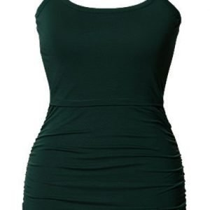 Boob Imetystoppi Ruched Singlet Teal