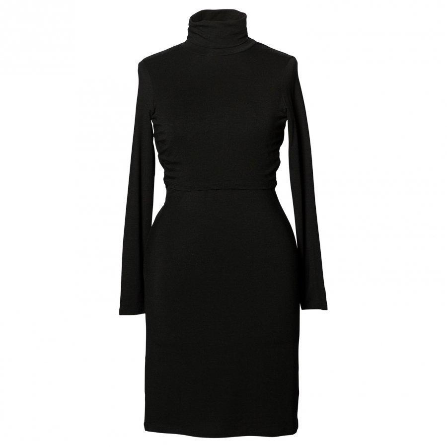 Boob Jackie Polo Dress Black Imetysmekko