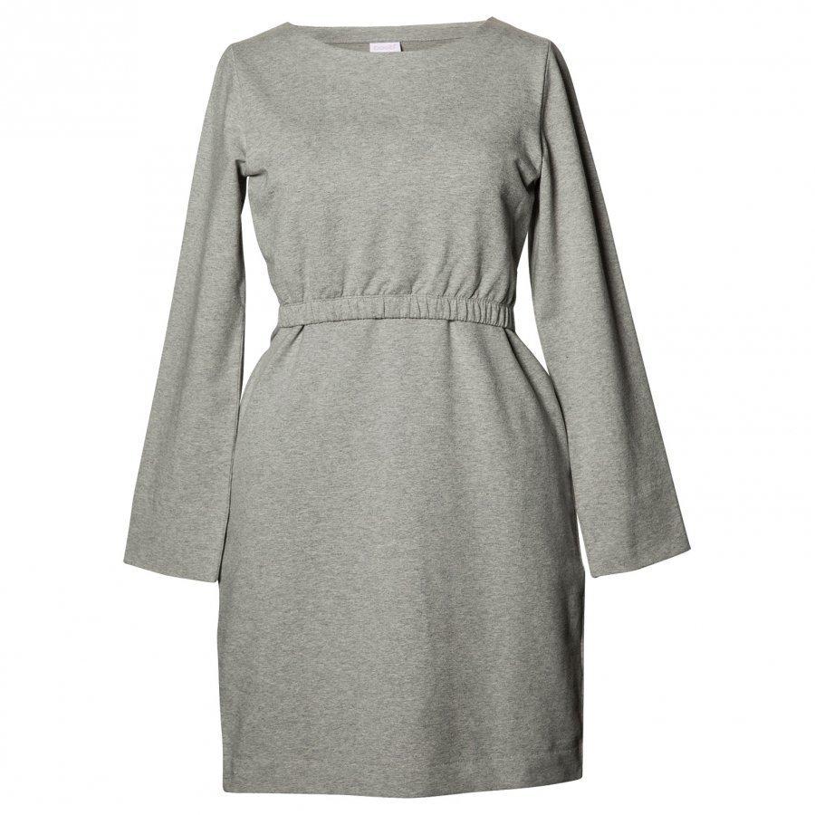 Boob Niki Dress Grey Melange Imetysmekko