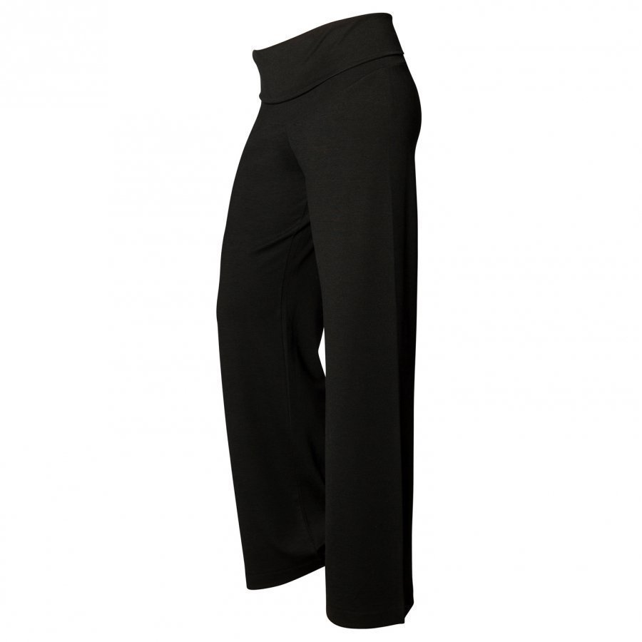 Boob Once-On-Never-Off Wide Pants Black Verryttelyhousut Äidille