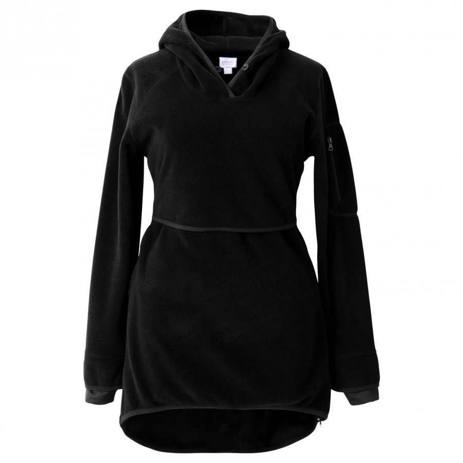 Boob Ready Flex Fleece Black T-Paita Äidille