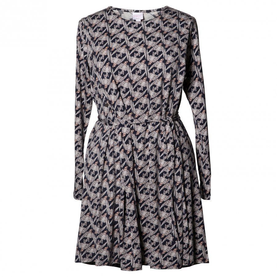 Boob Speakeasy Dress Print Midnight Blue Imetysmekko