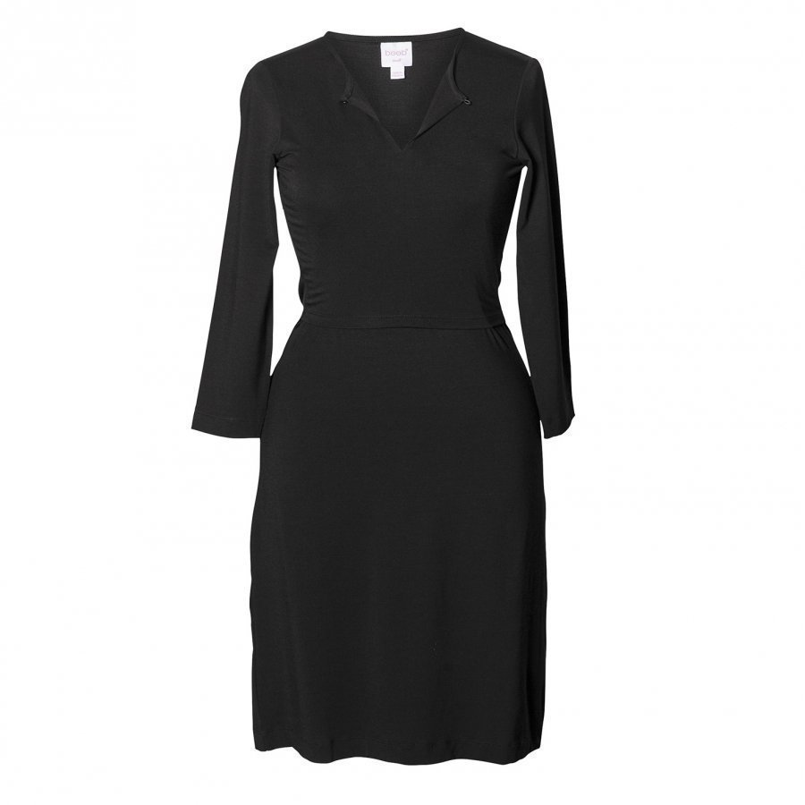 Boob Tunic Dress Black Tunika Äidille