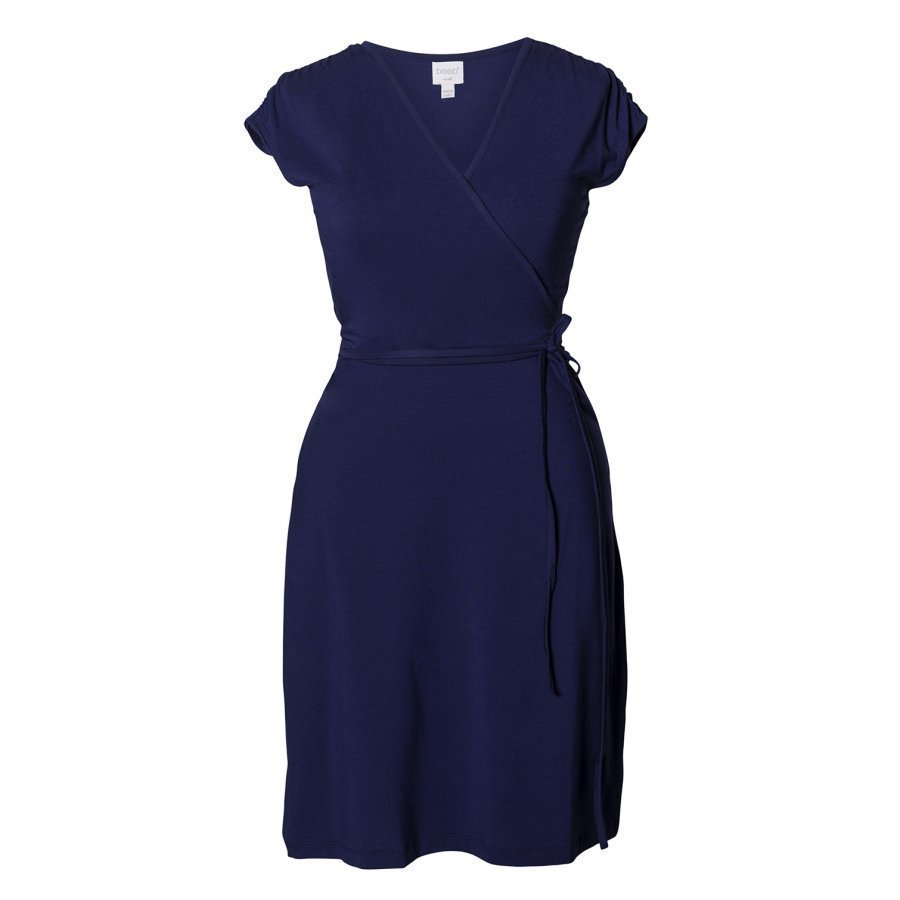 Boob Wrap Dress Cobalt Raskausmekko