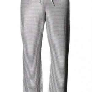 Boob Yöpuvun housut Stripe Offwhite/Grey