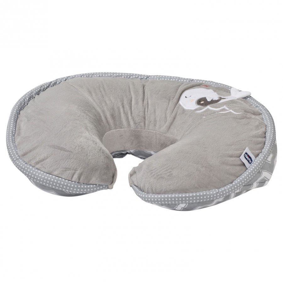 Boppy Nursing & Infant Support Pillow Happy Silver Imetystyyny