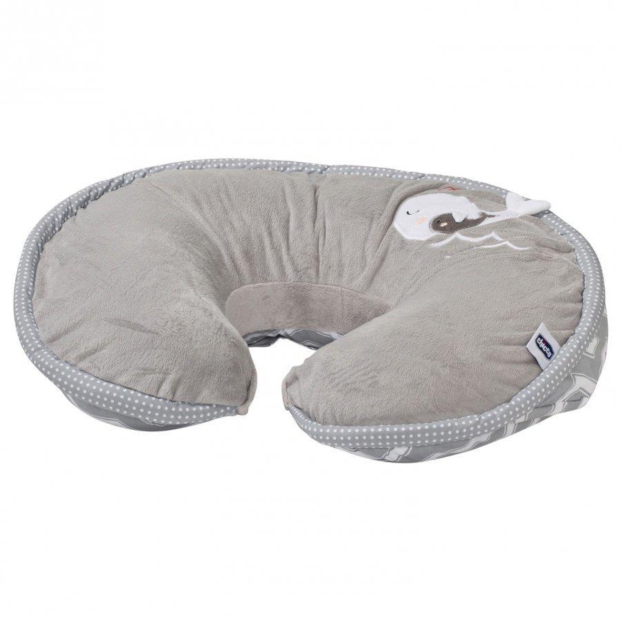 Boppy Nursing & Infant Support Pillow Happy Silver Imetystyyny