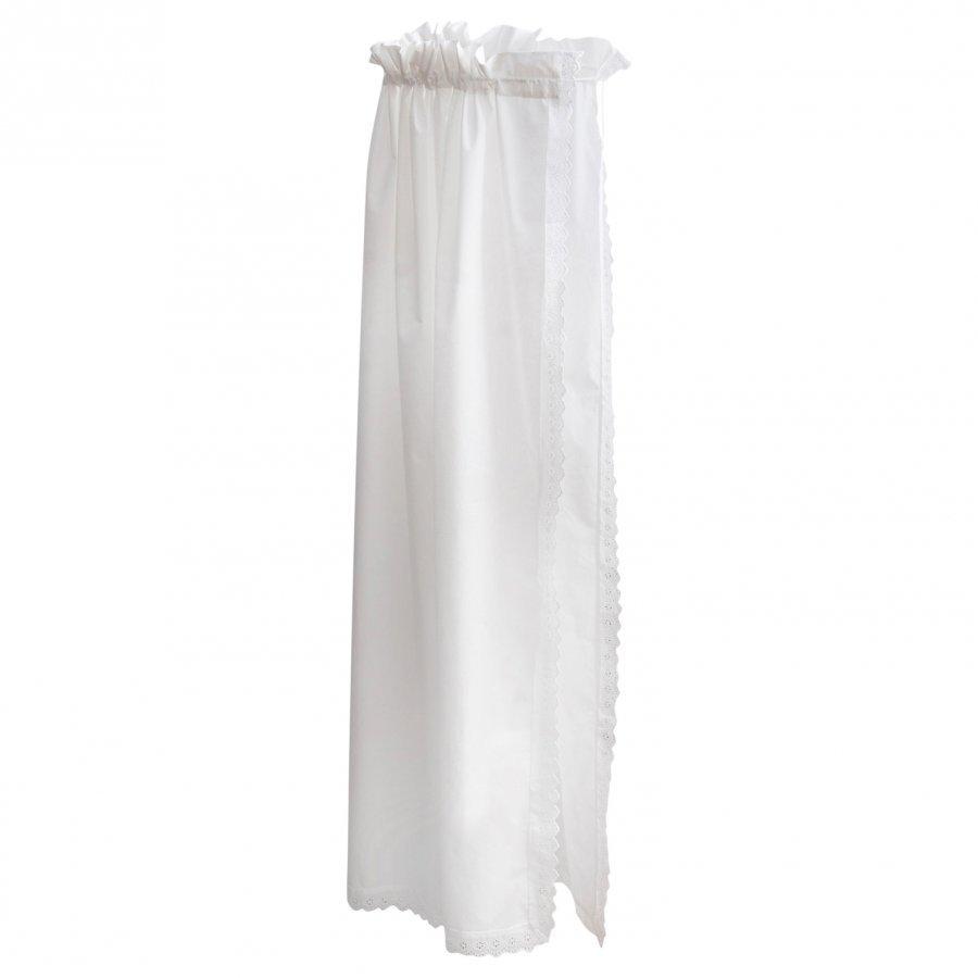 Borås Cotton Fryd Sengehimmel Hvit 160x240cm Sänkykatos