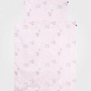 Borås Cotton Petivaatteet Vaaleanpunainen Pussilakanasetti