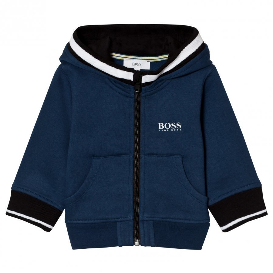 Boss Blue Branded Hoody Huppari