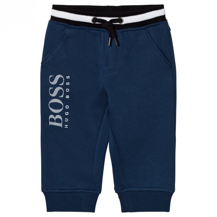 Boss Blue Branded Sweat Pant Verryttelyhousut