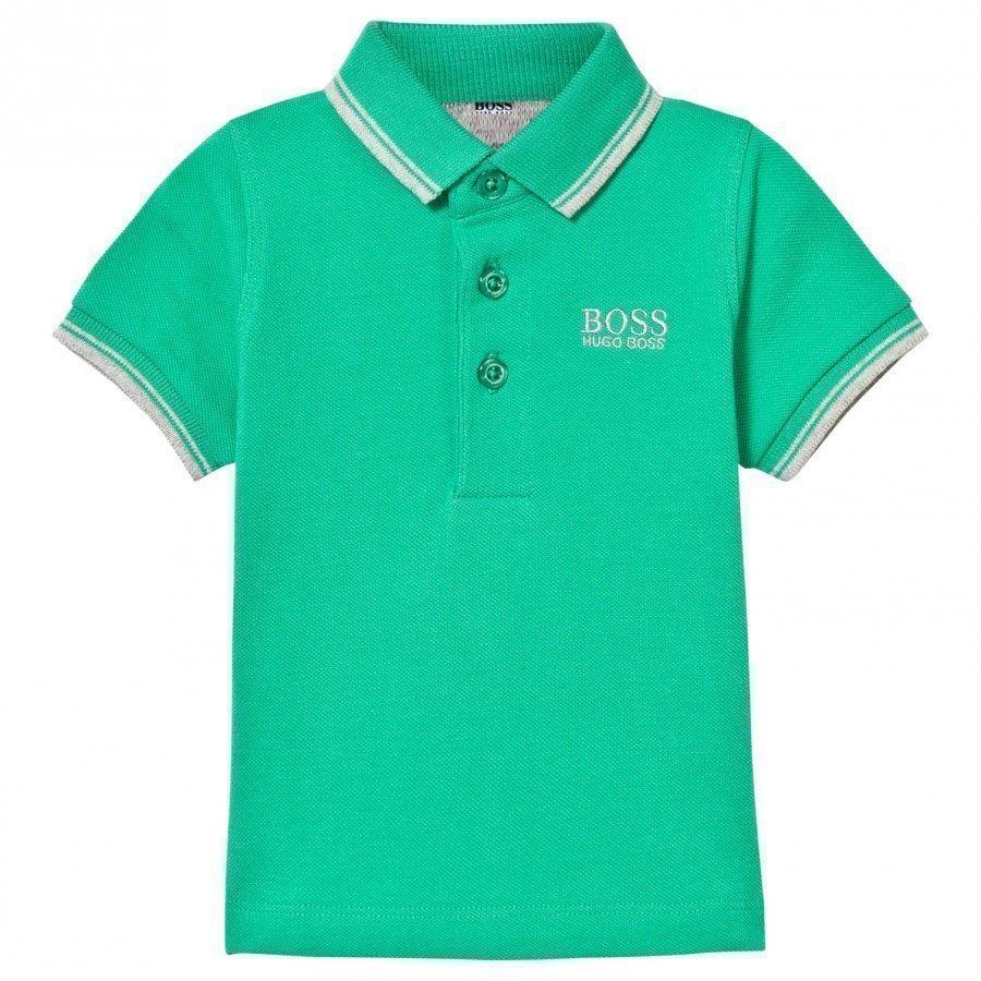 Boss Green Classic Branded Polo Pikeepaita