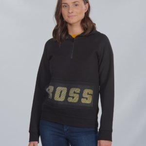 Boss Hooded Sweatshirt Huppari Musta