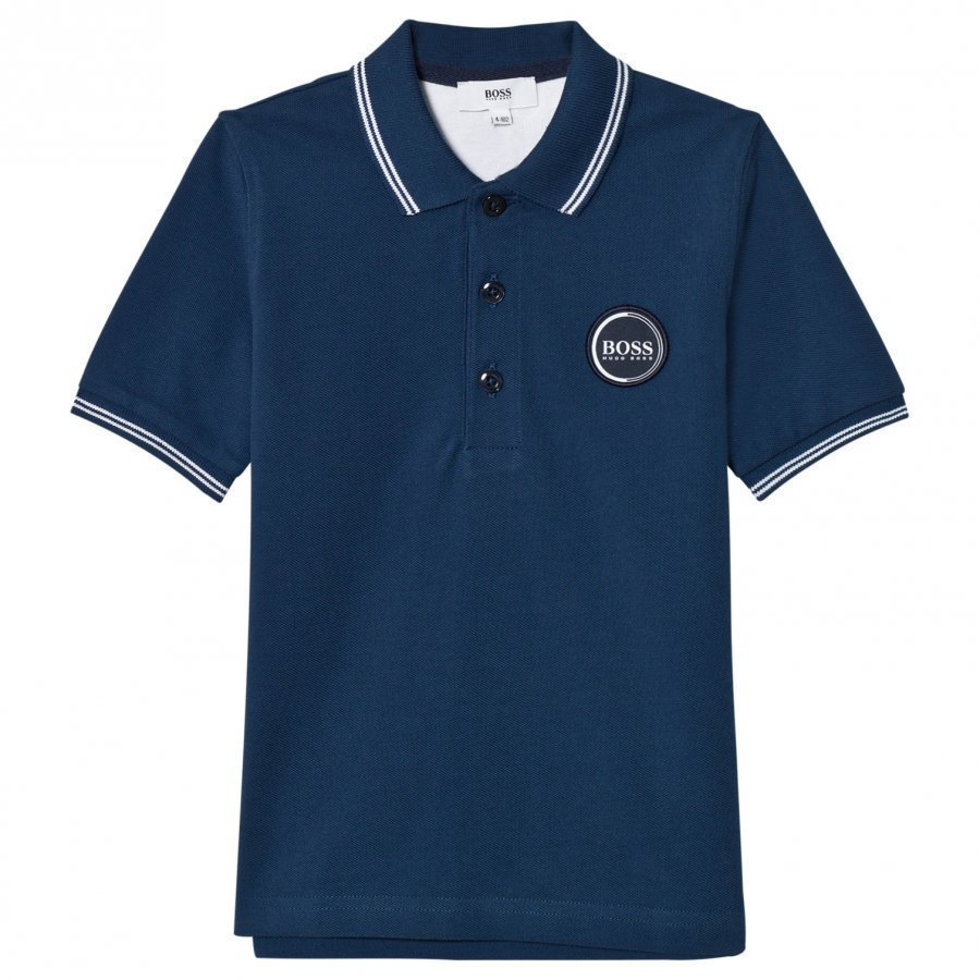 Boss Navy Branded Polo T-Paita