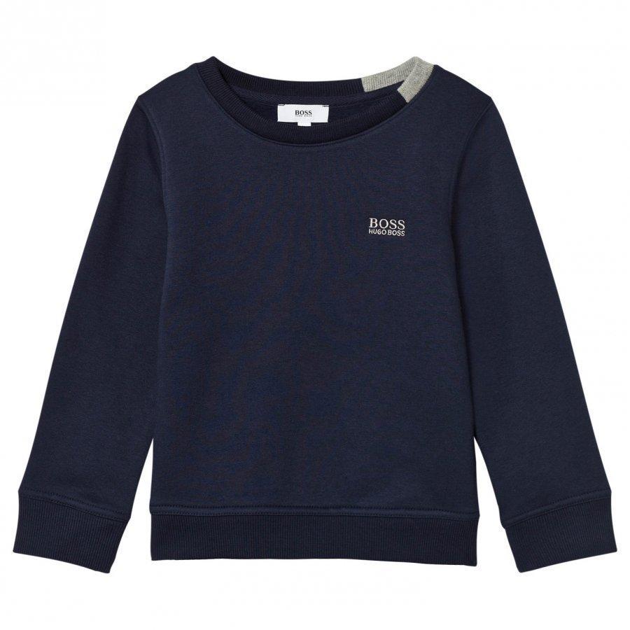 Boss Navy Branded Sweatshirt Oloasun Paita