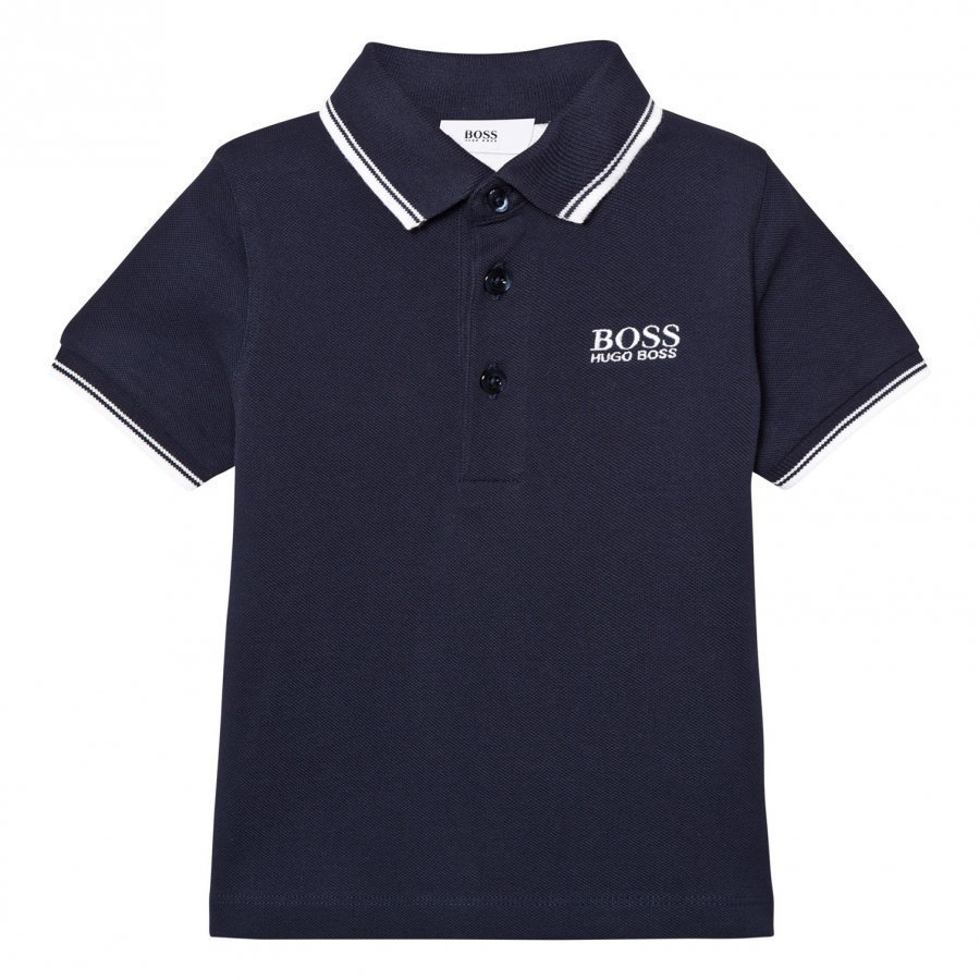Boss Navy Classic Polo Pikeepaita