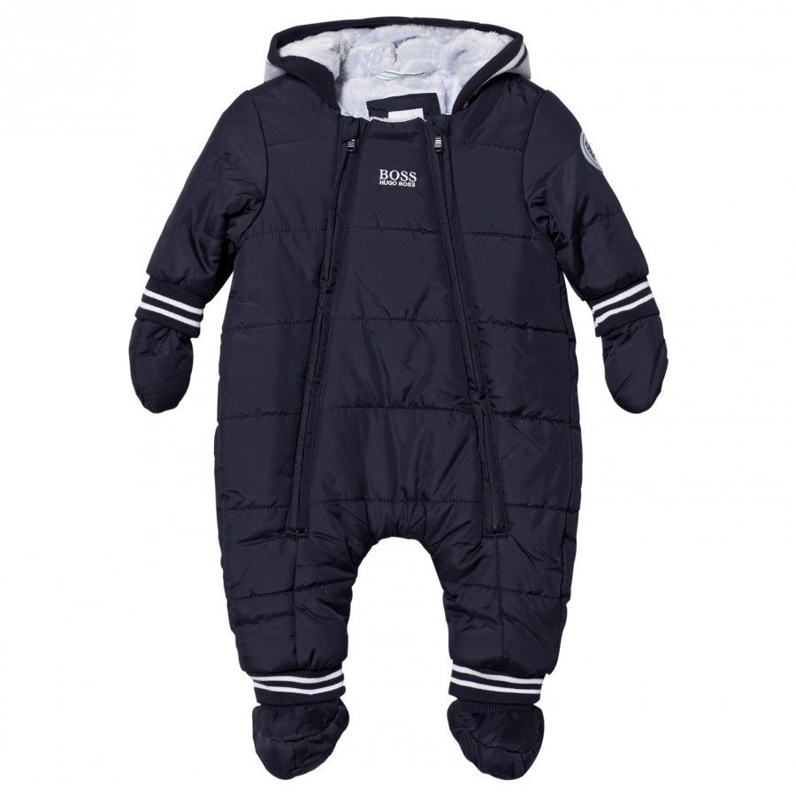 Boss Navy Padded Snowsuit Toppahaalari