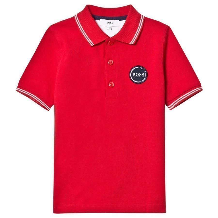 Boss Red Branded Polo T-Paita