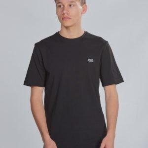 Boss Short Sleeves Tee Shirt T-Paita Musta