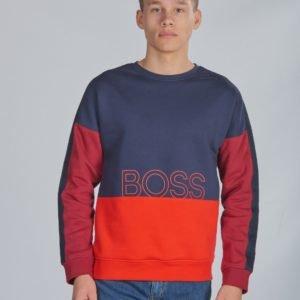 Boss Sweatshirt Neule Kirjava