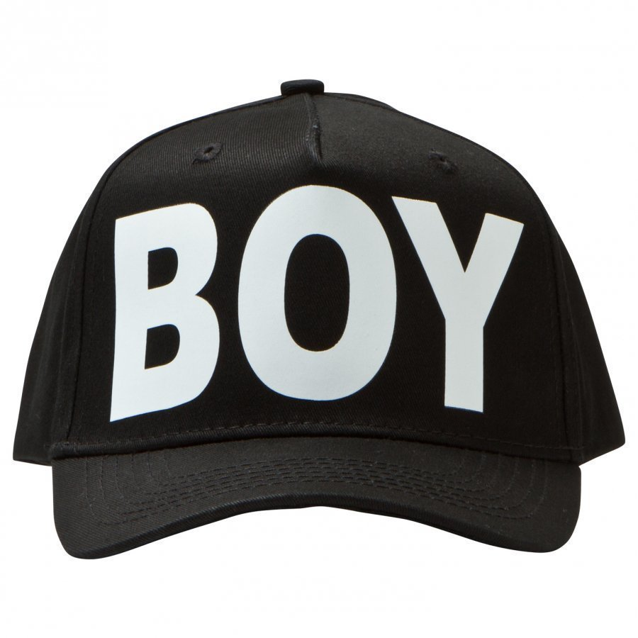 Boy London Black And White Logo Cap Lippis
