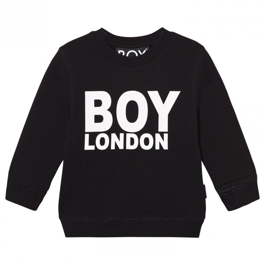 Boy London Sweat Black/White Oloasun Paita