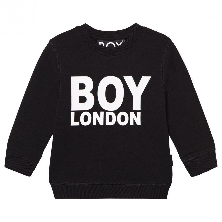 Boy London Sweat Black/White Oloasun Paita