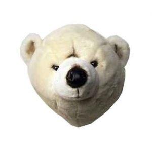 Brigbys Jääkarhupehmolelun Pää Seinälle Jääkarhu