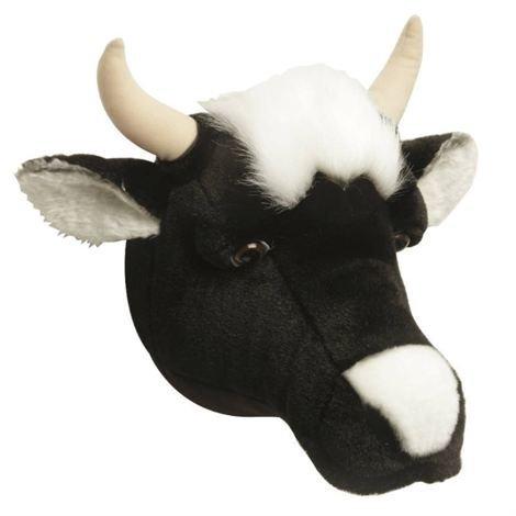Brigbys Lehmäpehmolelun Pää Seinälle Lehmä
