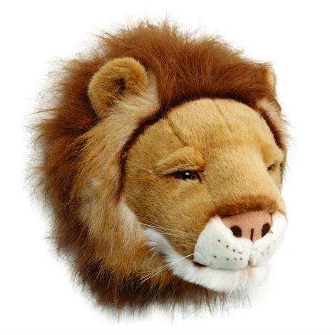 Brigbys Leijonapehmolelun Pää Seinälle Leijona
