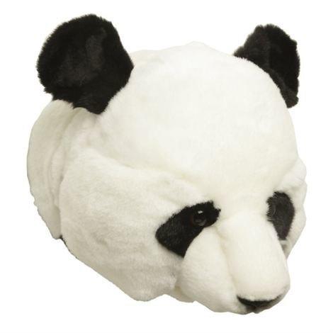 Brigbys Pandapehmolelun Pää Seinälle Panda
