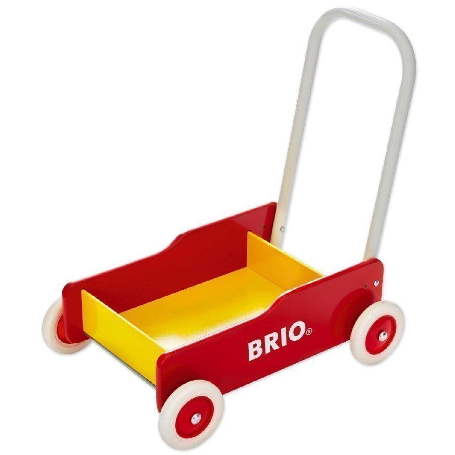 Brio Kävelyvaunu Punainen / Keltainen 31350