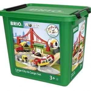 Brio Large City & Cargo Set
