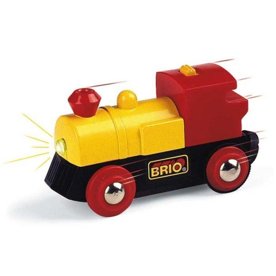 Brio Paristokäyttöinen Veturi Keltainen 33594