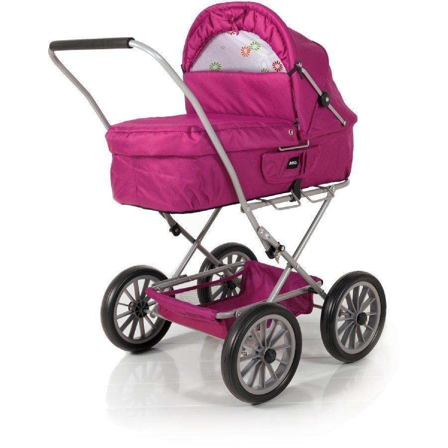 Brio Pienet Nukenvaunut Vaaleanpunainen