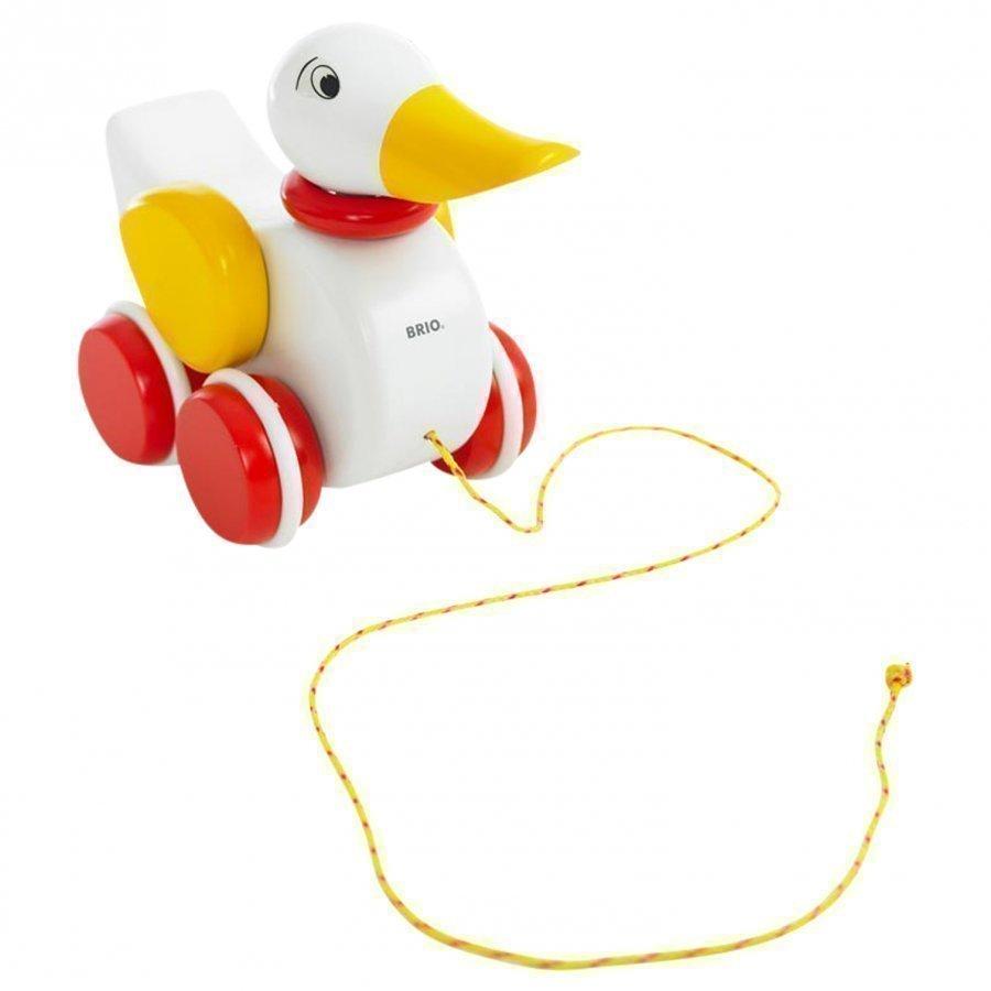 Brio Pull-Along Duck White Vetolelu