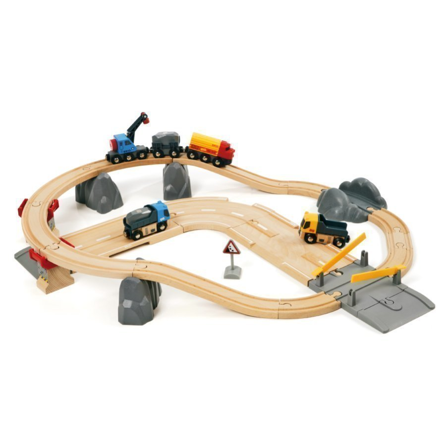 Brio Rail & Road Kivenlastausratasetti 33210