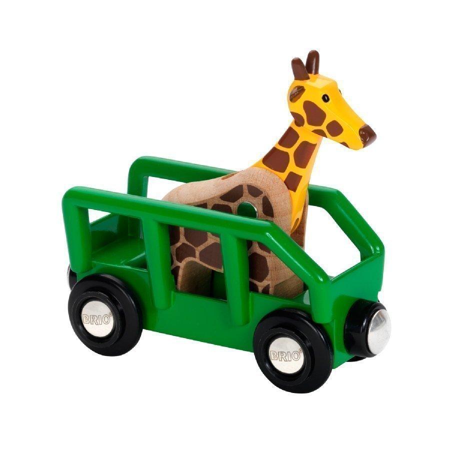 Brio Safari Kirahvi Ja Vaunu 33724