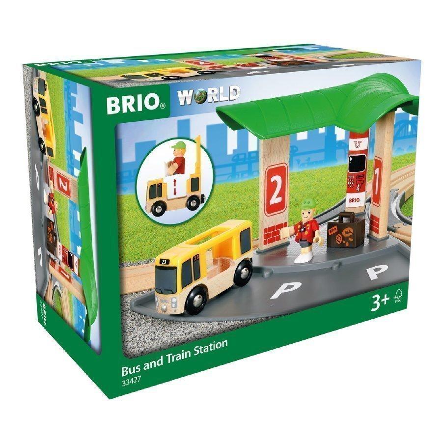 Brio World Bussi Ja Juna Asema