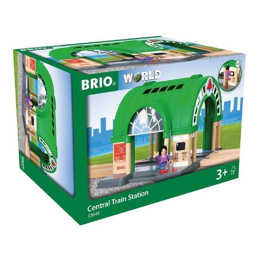 Brio World Iso Juna Asema Lippuautomaatilla