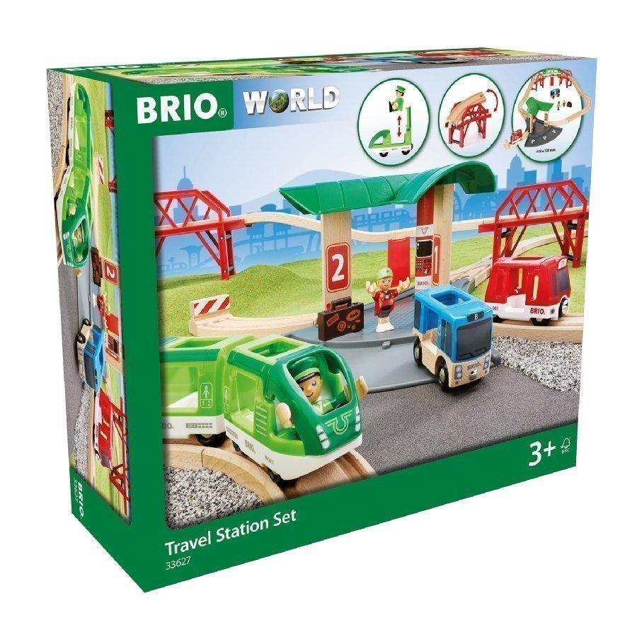 Brio World Matkajunasetti Bussiasemalla
