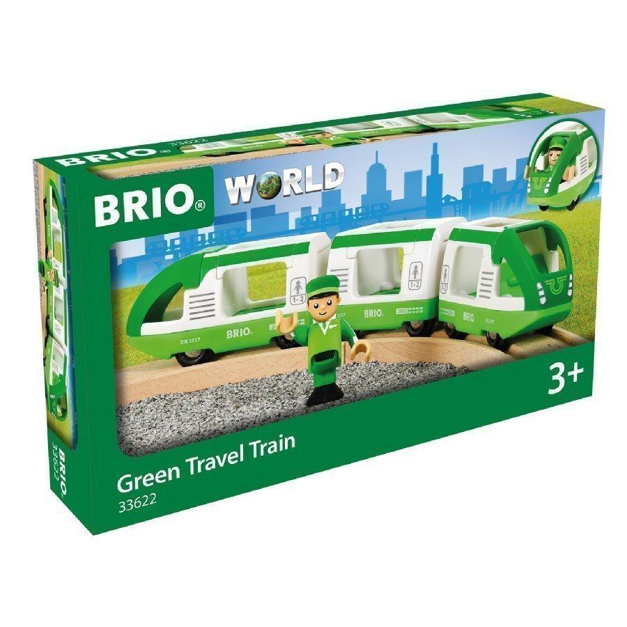 Brio World Vihreä Matkajuna