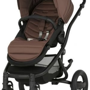 Britax Affinity 2 2016 Rattaat Black/Wood Brown Paketti
