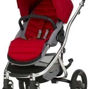 Britax Affinity 2 2016 Rattaat Chrome/Flame Red Paketti