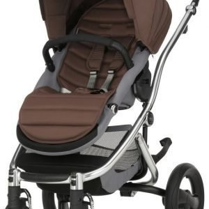 Britax Affinity 2 2016 Rattaat Chrome/Wood Brown Paketti