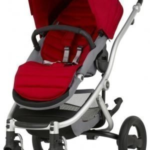 Britax Affinity 2 2016 Rattaat Silver/Flame Red Paketti