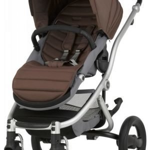 Britax Affinity 2 2016 Rattaat Silver/Wood Brown Paketti